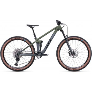 Cube Stereo 140 HPC Rookie flashgrey´n´olive